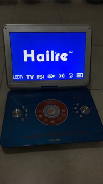 Used Portable DVD with 15 inch LED + Battery  in Dubai, UAE