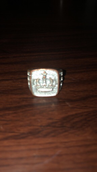 Used King ring its made by iron in Dubai, UAE