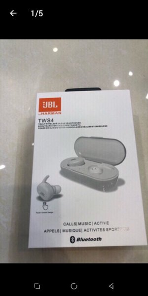 Used JBL WIRELESS HEADSET WHITE. in Dubai, UAE