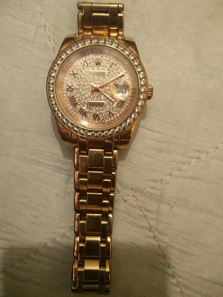 Used Rolex wristwatch... Not copy... Original in Dubai, UAE