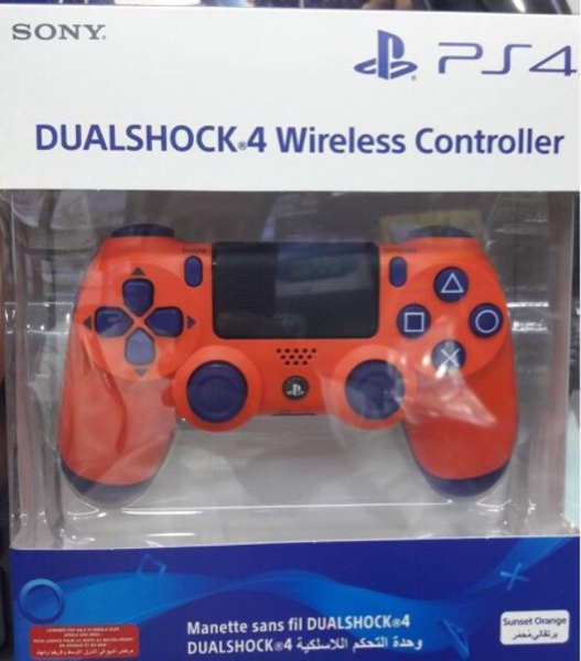 Used PS4 controller orange  in Dubai, UAE