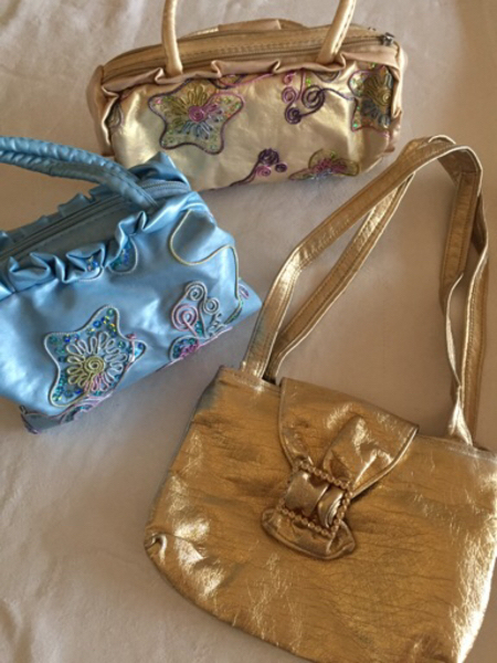 3 Pretty bags for little girls