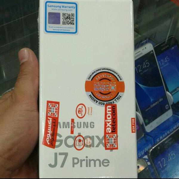 Samsung J7 Prime With One Year Axiom Warranty