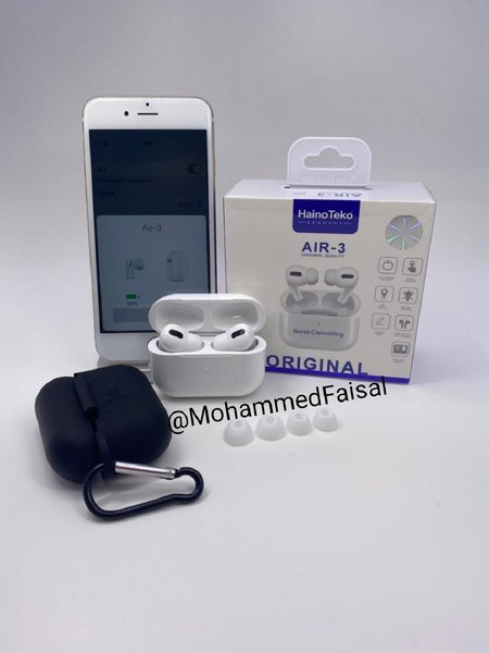Used Airpods Air3 Limited Edition White color in Dubai, UAE