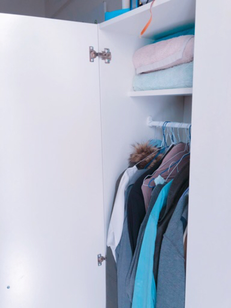 Used Ikea wardrobe for sale used for month  in Dubai, UAE