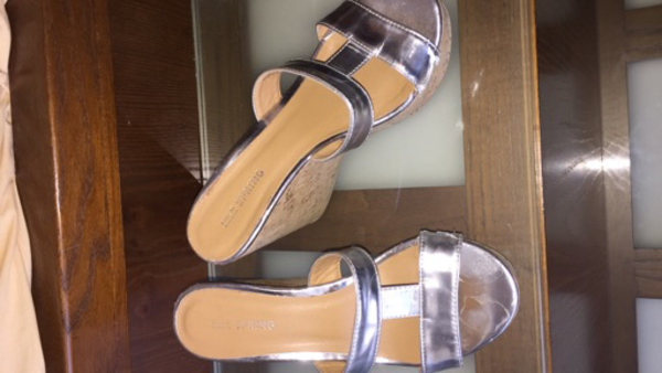 "Used aldo 37""size silver shoes  in Dubai, UAE"