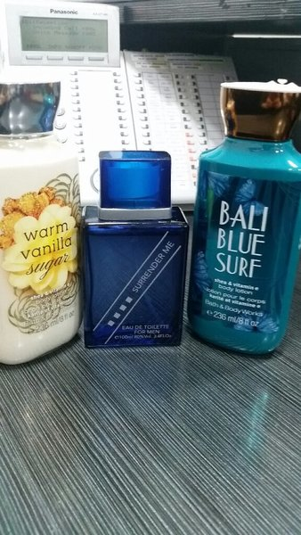 Used Body lotion for her and perfume for him in Dubai, UAE