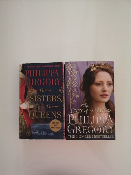 Used Two Books by Phillipa Gregory in Dubai, UAE