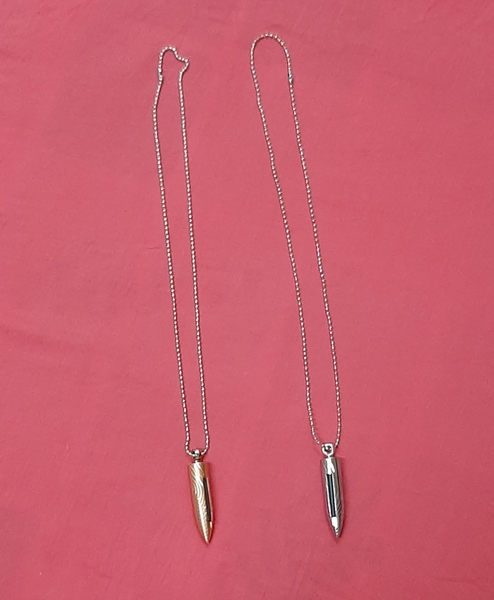 Used Bullet pendant lighter 2 pcs in Dubai, UAE