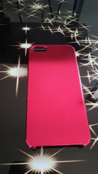 Used Iphone 5/5s Back cover, Red in Dubai, UAE