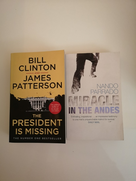 Used President is Missing and 1 other book in Dubai, UAE