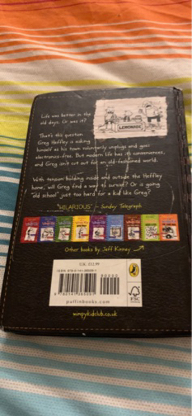 Used Diary of a wimpy kid old school in Dubai, UAE