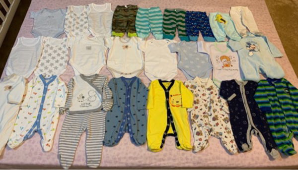 Used For baby boy 0-3 month . in Dubai, UAE