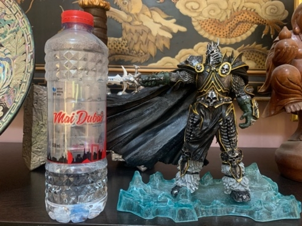 Used WoW Deluxe Collection Figure Lich King in Dubai, UAE