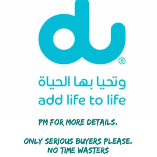 Used DU BUSINESS SIM CARD in Dubai, UAE