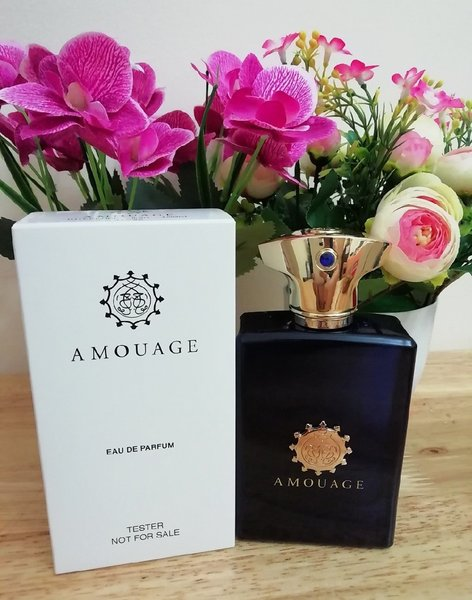 Used Amouage interlude men perfume 100ml in Dubai, UAE