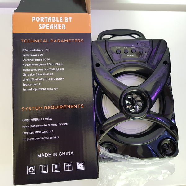 Used New portable speaker still in box in Dubai, UAE