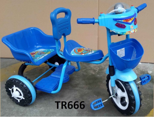 Used New Tricycle for kids (2 Seater) in Dubai, UAE