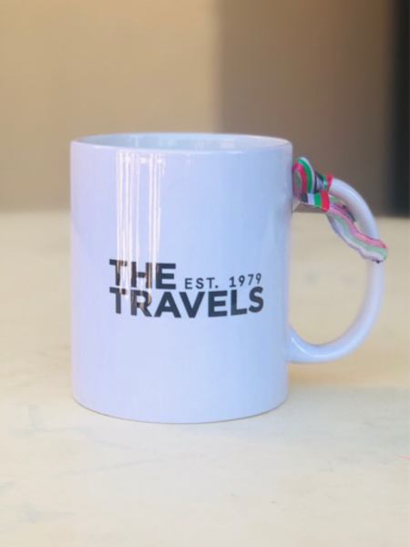 Used The Travels ceramic mug in Dubai, UAE