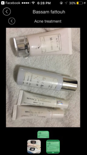 Used Ducray and foundation and acne set in Dubai, UAE