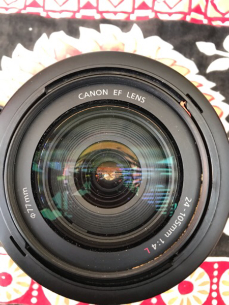Used Canon lens 24-105 in Dubai, UAE