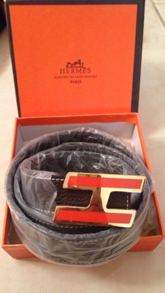 Used Hermes dark brown Ladies belt. 105 cms in Dubai, UAE