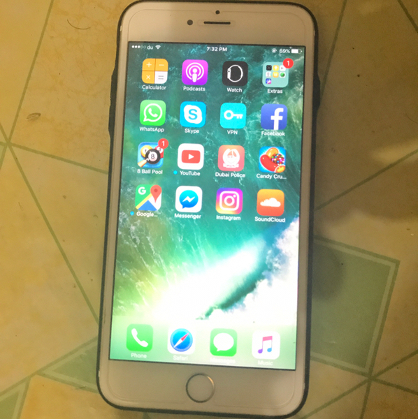 Used I Phone 6s Plus And Brand New Condition. in Dubai, UAE