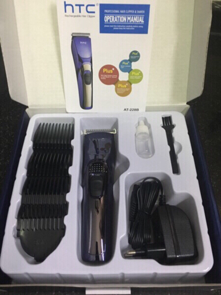 Used HTC rechargeable clipper/trimmer new in Dubai, UAE