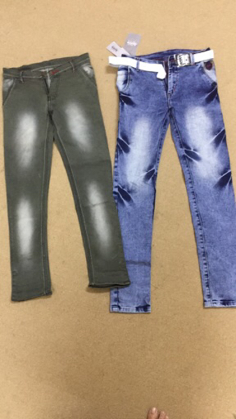 Used Brand new jeans boys 11 to 12 year old in Dubai, UAE