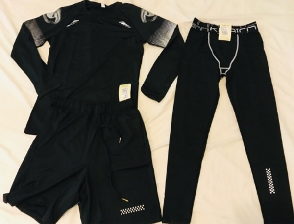 Used CYCLING SUIT 3 SETS / SIZE M in Dubai, UAE