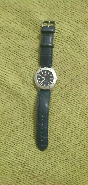 Preloved Timeforce Watch..With Navy Blue