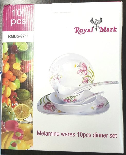 Used 10 pc dinner set brand new in Dubai, UAE