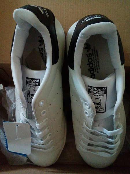 Brand New White/Black SS Shoes Size 42