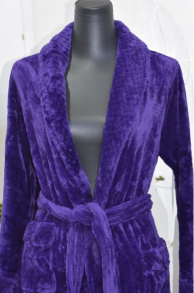 Used Purple Velvet Bathrobe/ Medium in Dubai, UAE