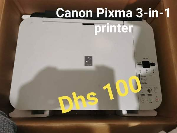 Used Canon Pixma 3-in-1 printer in Dubai, UAE