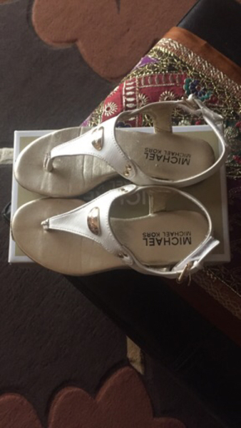 Used Authentic Michael kors kids sandals in Dubai, UAE