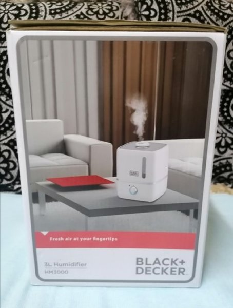 Used Black +Decker 3L Humidifier in Dubai, UAE