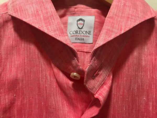 Used NEW CORDONE Shirt Size 42 Italian Brand in Dubai, UAE