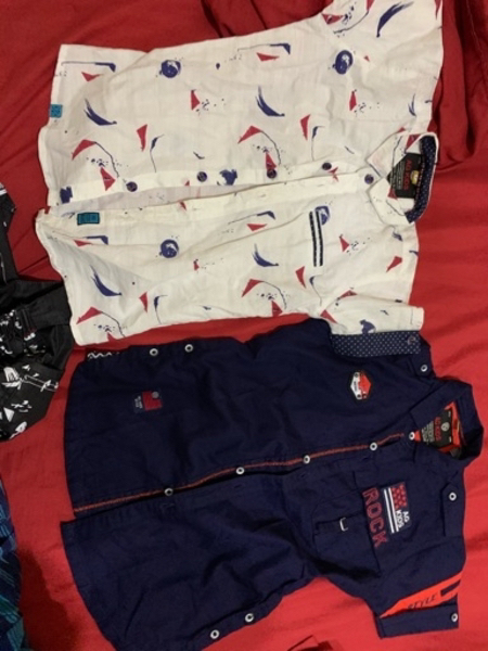 Used Boy shirts and pants NEW in Dubai, UAE