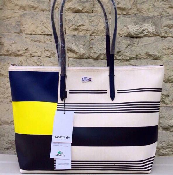 198d2d12cb Used original lacoste tote bag large size with pouch paperbag only brandnew  in Dubai, UAE