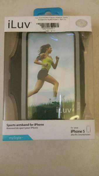 Used ILuv sports Armband for 5inch smartphone in Dubai, UAE