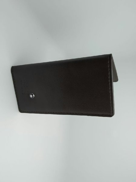 Used Montblanc card holder wallet#1 (black) in Dubai, UAE