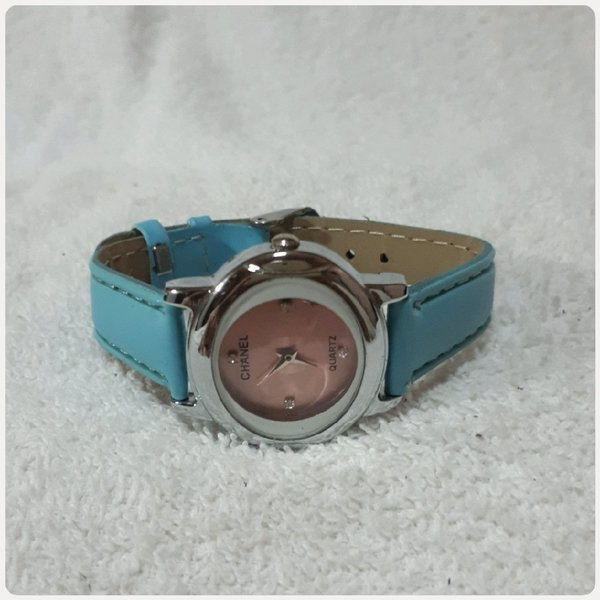 Used Channel watch blue color for Girl in Dubai, UAE