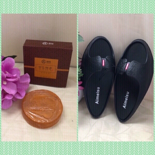 Used NEW💥Slimming Shoes + Crystal Soaps in Dubai, UAE