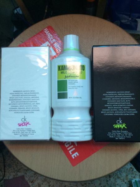 Used Aed 159 for ck and shampoo in Dubai, UAE
