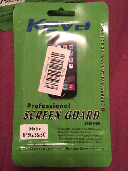 Used 2 Screen Guard Matte IPhone 5G/5S/5C in Dubai, UAE