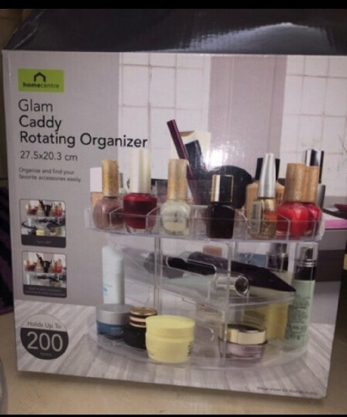 Used Glam caddy Rotating organizer in Dubai, UAE