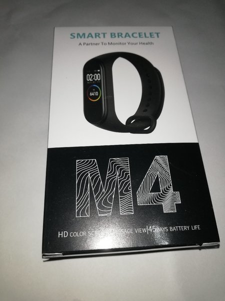 Used M4 Smart Fitness Band Black in Dubai, UAE