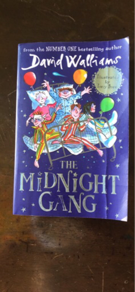 Used Midnight gang book David Williams in Dubai, UAE