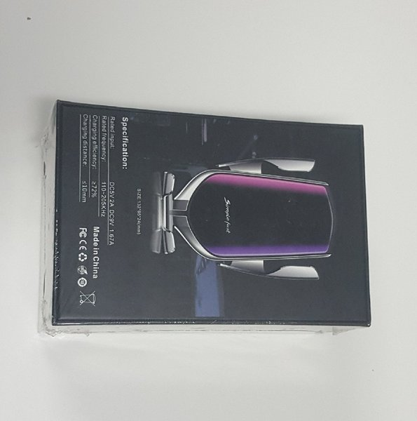 Used R2 Automatic Wireless Car Charger silver in Dubai, UAE